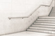 Modern staircase in black and white - 81770256