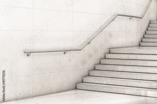 Aluminium Trappen Modern staircase in black and white