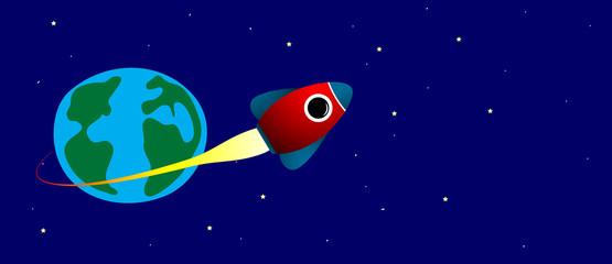 razzo, spazio, missile, astronautica, viaggio, fantasia