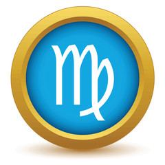 Gold Virgo icon