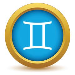 Gold Gemini icon