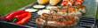 Leinwandbild Motiv Summer barbecue