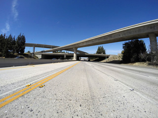 Los Angeles Freeways in San Fernando Valley