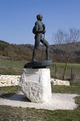 Statue of Bartolomeo Vanzetti
