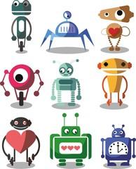 Мультфильм векторные робот