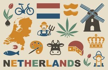 Netherlands icons