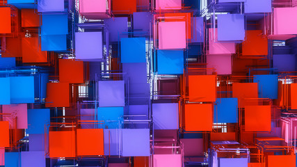 Abstract background and colors