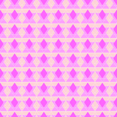 Vector Abstract Pink Pattern