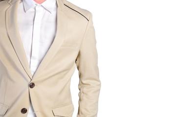 closeup of gentleman