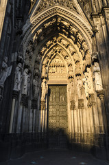 Koln dome doorway