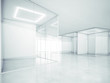 Blank office space. 3D rendering - 81776878