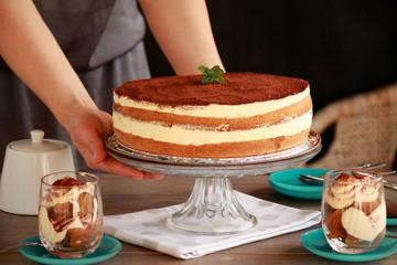 Tiramisu dessert - cake