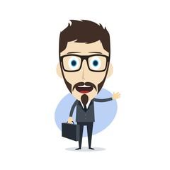 businessman cartoon