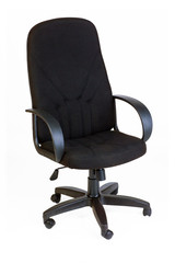 The office chair. Isolated
