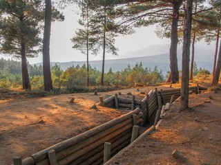 Trenches of Gallipoli