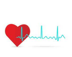 Heart Wave Illustration