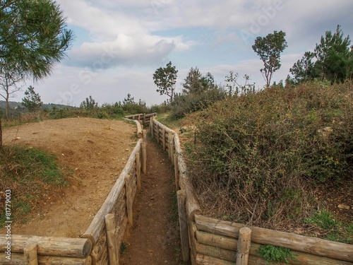 Plexiglas Turkey Trenches of Gallipoli