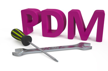 PDM - Product data management service concept