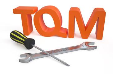 Total quality management (TQM) service concept