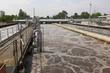 Leinwanddruck Bild - Wastewater