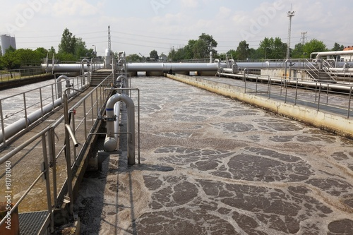 Papiers peints Canal Wastewater