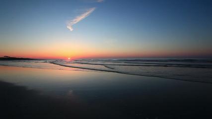 Beach sunrise at Cherry Grove Beach, SC