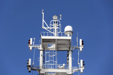Ship antennas