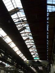 Lichtval in de fabriek