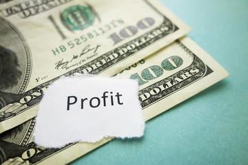 Profit headline