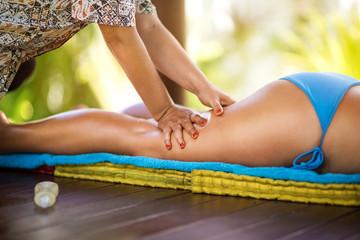 Legs massage
