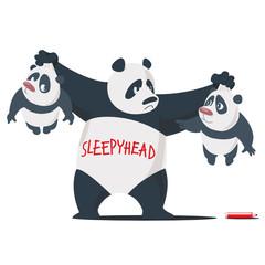 Three Panda brothers