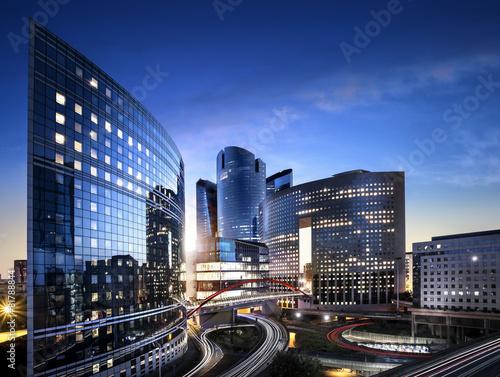 Fototapeta Quartier la Défense Paris