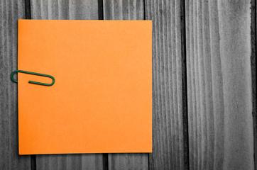 Orange notes