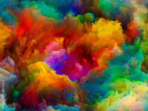 Zdjęcia na płótnie, fototapety na wymiar, obrazy na ścianę : Exploding Color
