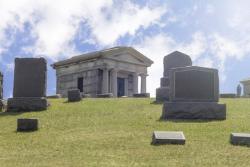 Graveyard Tombs Gravestones