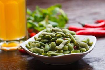 Beer and beans, summer Food