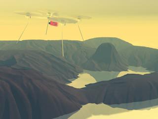 drone rendering