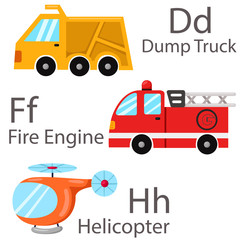 Illustrator of vehicle set two