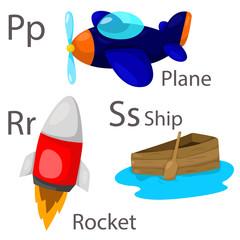Illustrator of vehicle set three