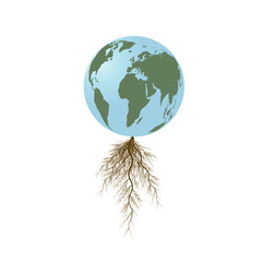 earth with roots