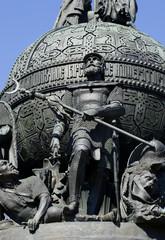 Дмитрий Донской. Памятник Тысячелетие России,  Великий Новгород