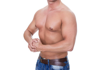 strong upper arms