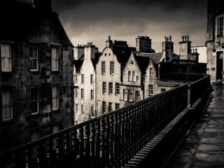 Black And White Edinburgh