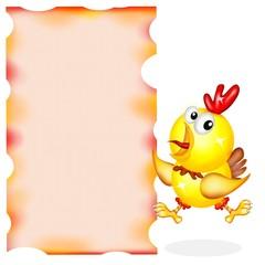 gallo adolescente spot
