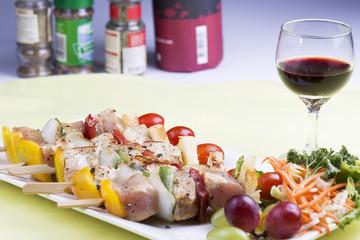 Grill Pork barbecue