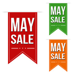 May sale banners design