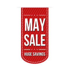 May sale banner design
