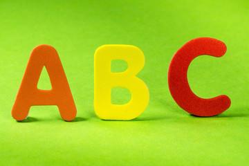 ABC Buchstaben