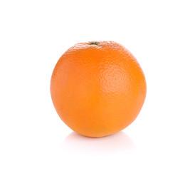 orange isolate on white background
