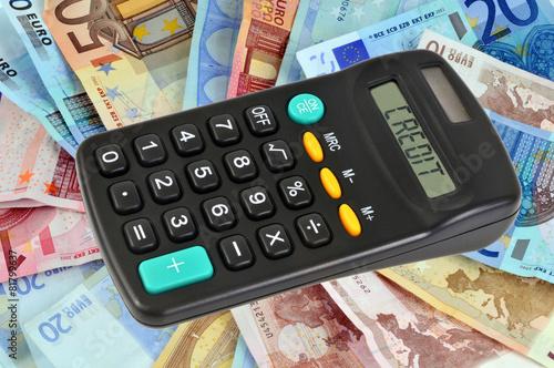 Concept de crédit